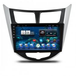 Штатная автомагнитола Carsys для автомобилей Hyundai Solaris