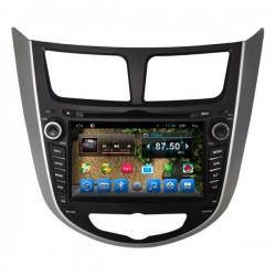 Штатное головное устройство Carsys для Hyundai Solaris