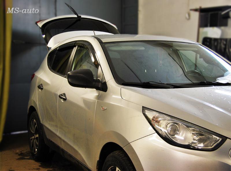 Тонировка авто в Воронеже Hyundai фото