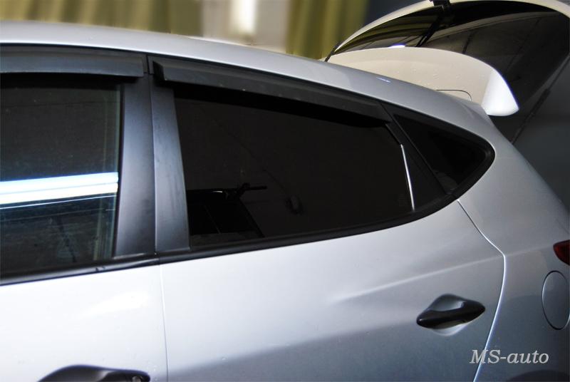 Тонировка Hyundai в Воронеже фото