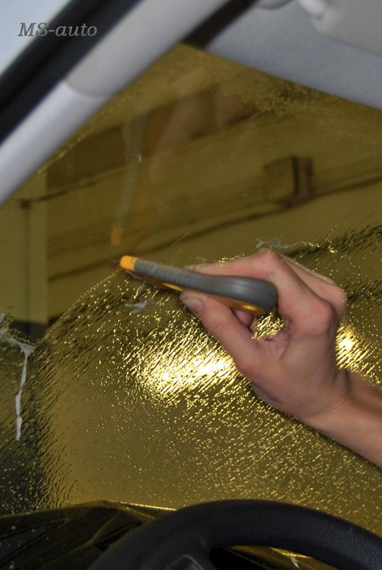 Растонировка лобового стекла
