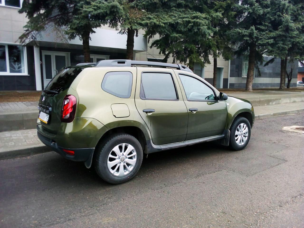 Тонировка Renault в Воронеже