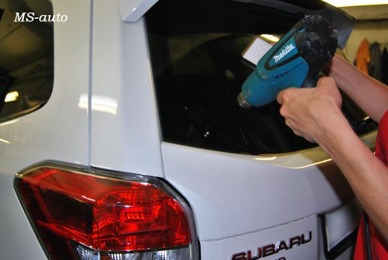 Тонировка Subaru в Воронеже