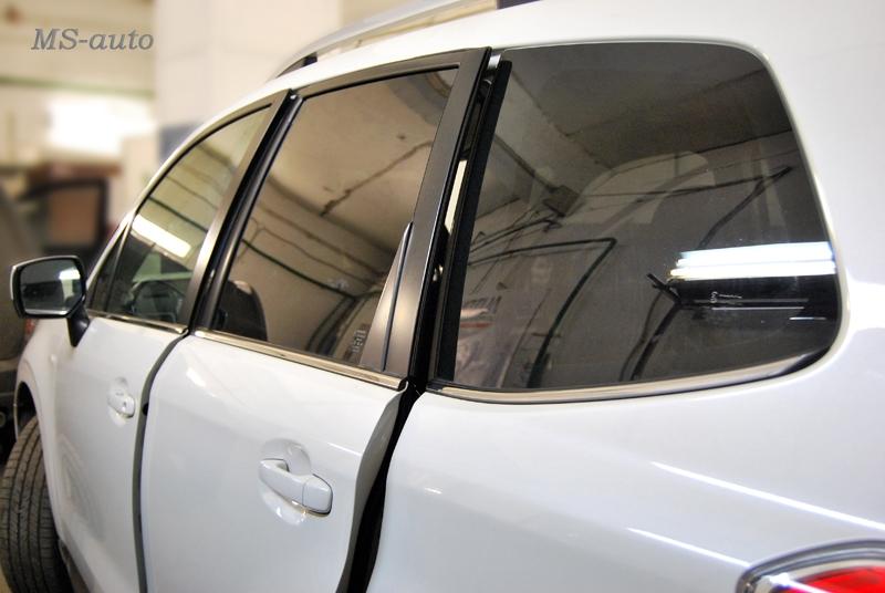 Тонировка задней части Subaru в Воронеже