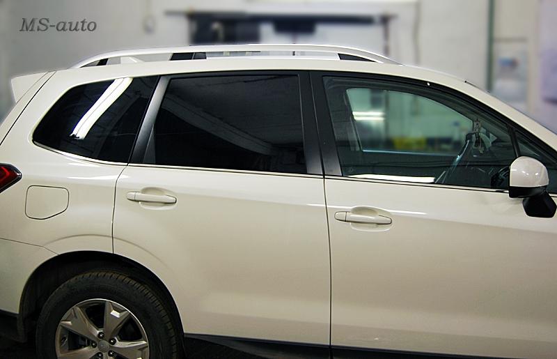 Тонирование задней части Subaru, тонировка в Воронеже