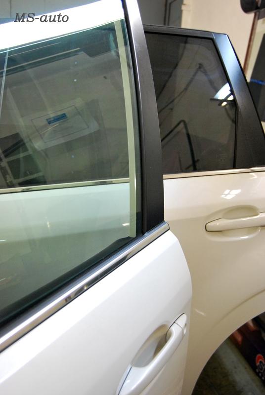 Тонирование задних стекол Subaru, тонировка в Воронеже